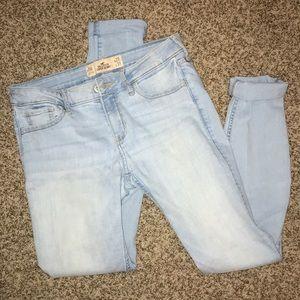 Light Wash Hollister Skinny Jeans